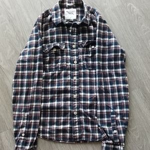 Abercrombie and Fitch Long Sleeve Flannel